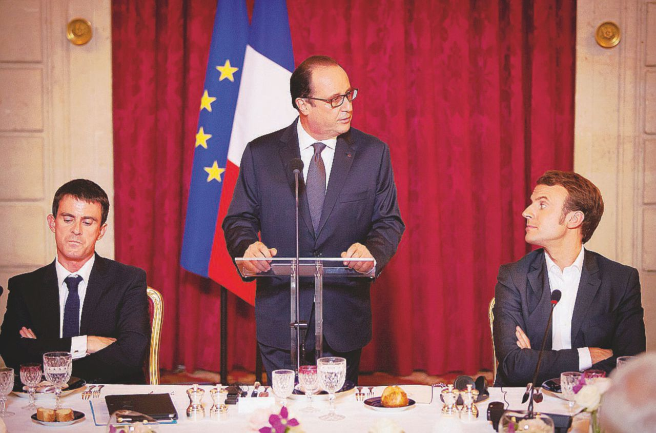 Macron, il delfino-traditore che vuole fare il rottamatore