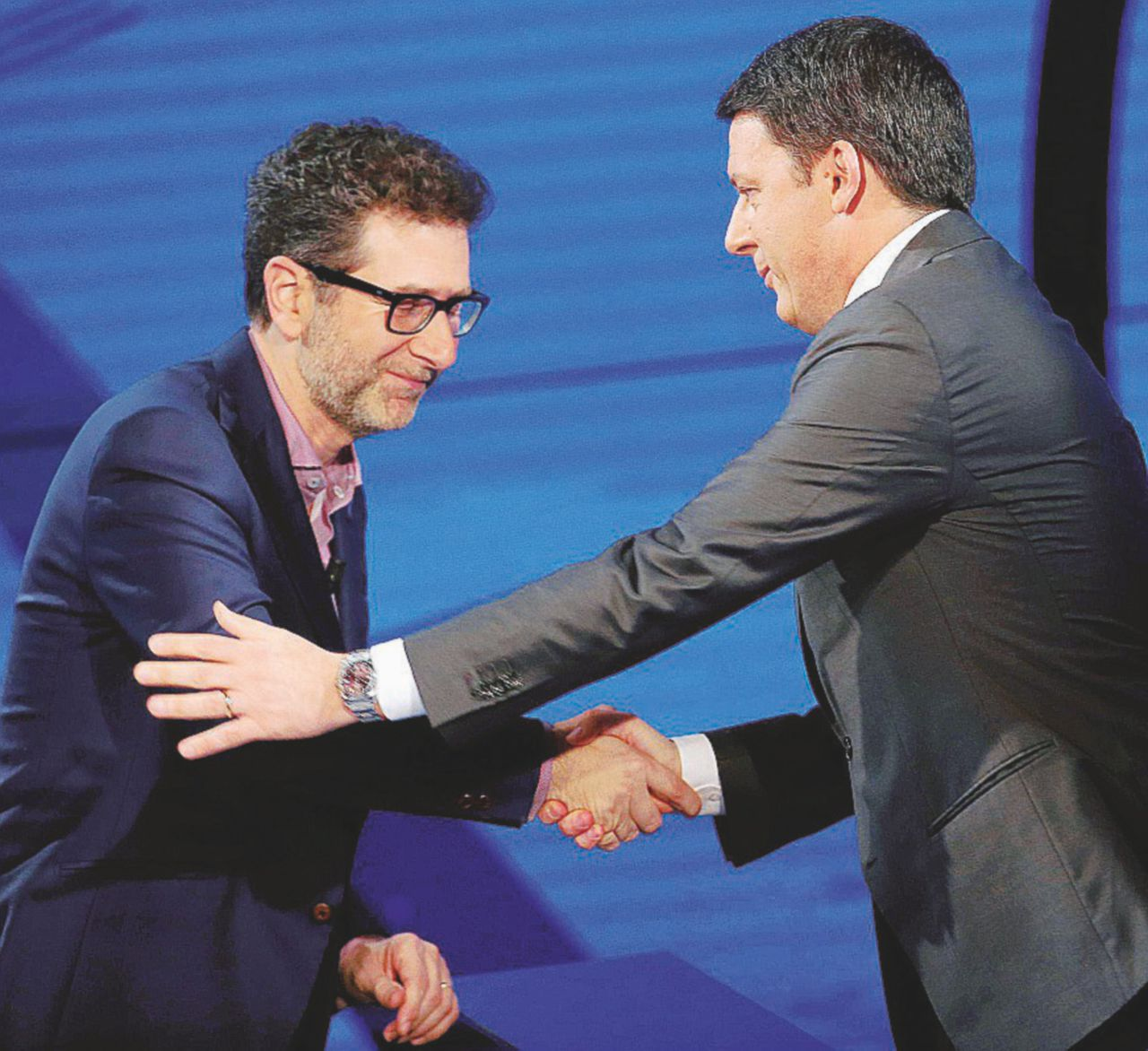 """""""No"""", da Fazio arriva Salvini per riequilibrare il premier. Rai3 aveva chiesto Grillo, Raggi o Appendino"""