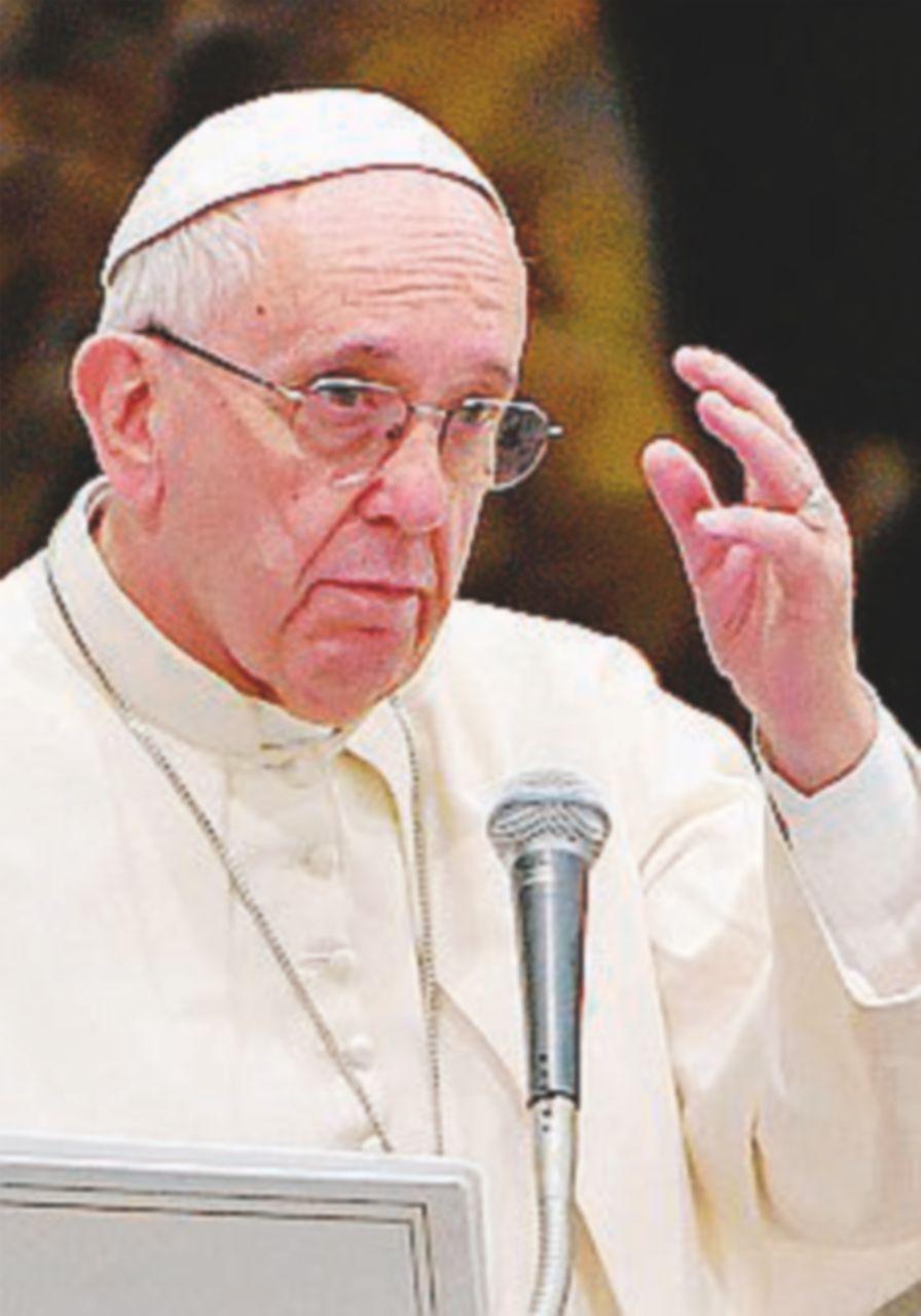 """Papa Francesco: """"Dio vuole dignità e libertà per le donne"""""""
