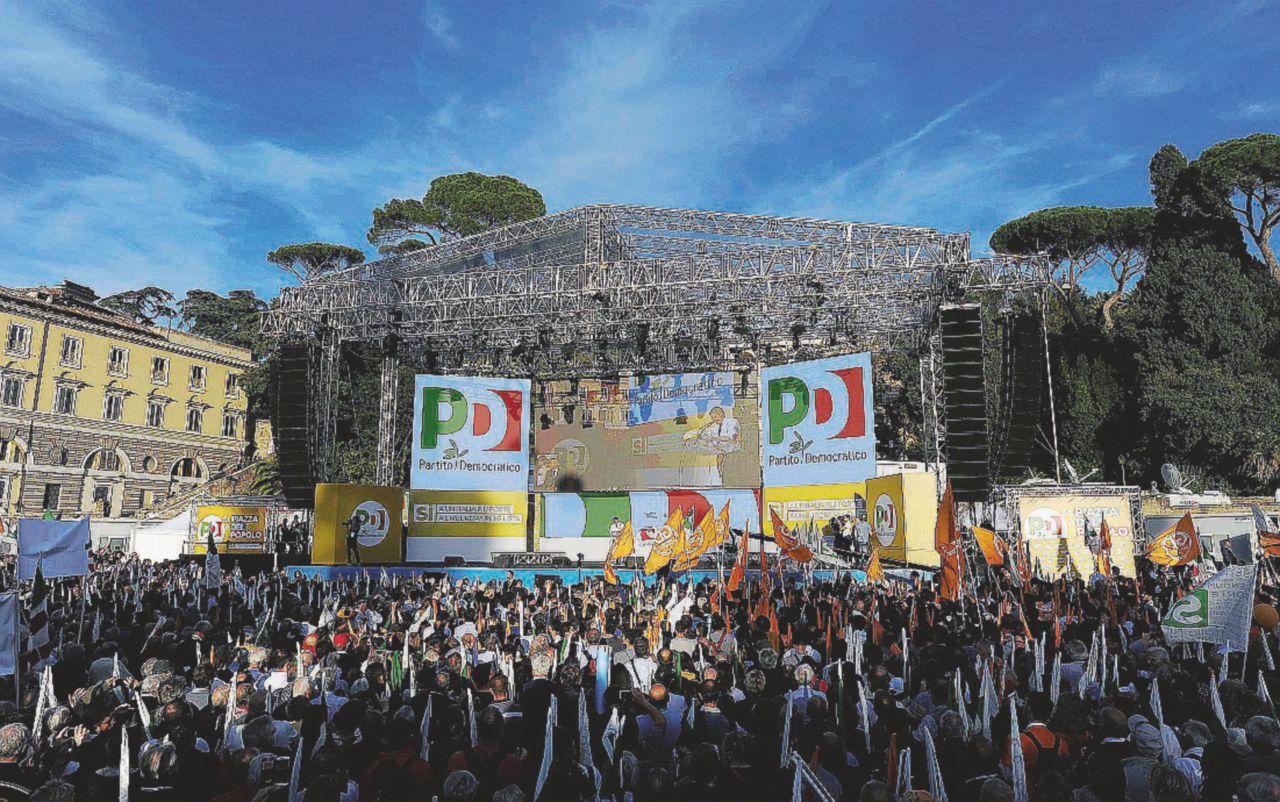 Roma, i movimenti del No prendono la piazza di Renzi