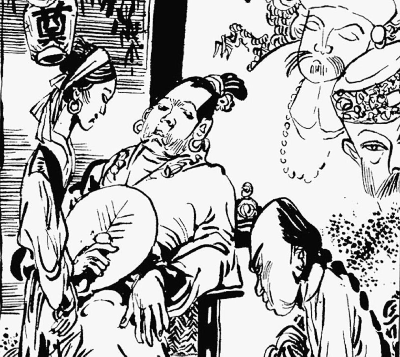 La rivoluzione non è un pranzo di gala, soprattutto nel fumetto di Li Kunwu