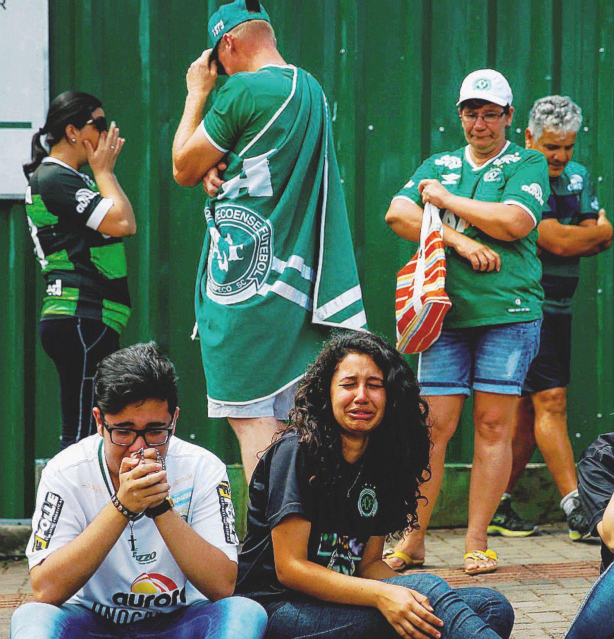 Una Superga brasiliana: Chapecoense azzerato
