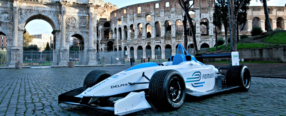 Formula E, il Gran Premio di Roma si correrà il 14 aprile 2018
