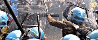 Leopolda, guerriglia in strada a Firenze: scontri tra polizia e gruppi antagonisti