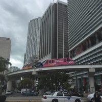 Downtown Miami: Metromover