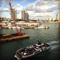 Downtown Miami: il porto