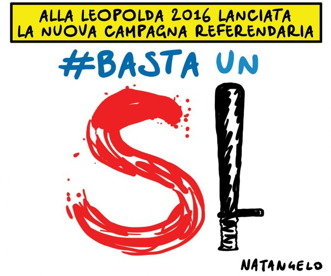 #Bastaunmanganello