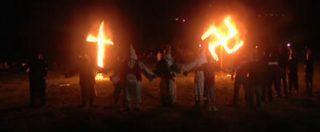 """Trump, il Ku Klux Klan annuncia la parata per la vittoria: """"Nostro approccio decisivo"""""""