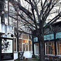 """Mensa degli artisti, avenue du Maine, Montparnasse: fu fondata da Marie Vassilieff per dare da mangiare agli artisti squattrinati. Compreso Modigliani (foto dalla mostra """"I luoghi di Modigliani tra Livorno e Parigi"""")"""