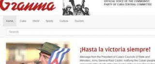 Fidel Castro morto, la notizia pubblicata sui siti dei giornali di tutto il mondo – FOTOGALLERY
