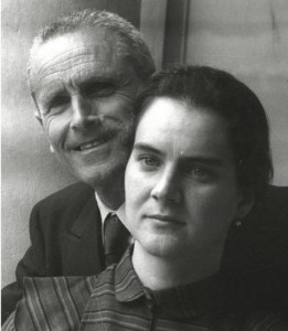 Enzo Maiorca e la figlia Rossana