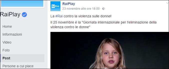 """Giornata contro la violenza sulle donne 2016, polemiche contro lo spot Rai. """"Chiediamo ritiro immediato"""""""