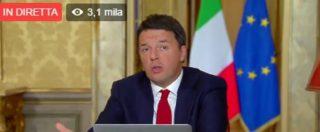 """Referendum, Renzi: """"Ottimista, gente cambia idea. Torna Berlusconi? Non mi riguarda ma tanti in Fi voteranno per Sì"""""""