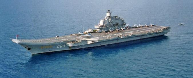 """Siria, media russi:"""" Manovre navali vicino coste. Pronti a colpire in 24 ore Aleppo"""""""