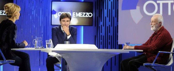 Scalfari vs Di Battista: 'Prima volta che vedo un grillino. Avete un padrone e fate ridere'. Lui: 'Non prendo ordini da Grillo'