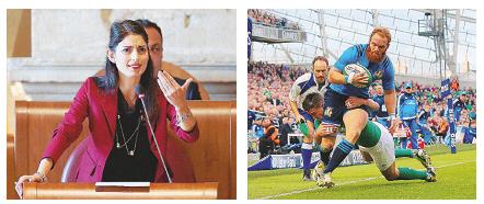 Roma, la Raggi invita gli azzurri e Federazione Rugby chiede soldi