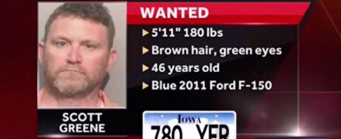 Usa, due agenti uccisi in auto in Iowa. Catturato il sospetto assassino