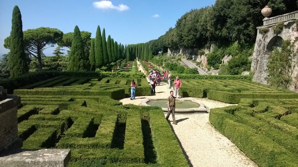 Castel Gandolfo: giardino delle Ville Pontificie