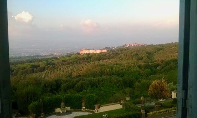 Vista sui Colli Albani