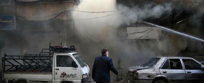 "Siria, Mosca: ""Offensiva anti-Isis a Idlib e Homs"". In azione aerei e navi da guerra"
