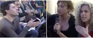 Lgbt per il Sì a Roma con Luxuria, Cirinnà e Boschi: polemiche in sala. E il ministro fugge dalle domande