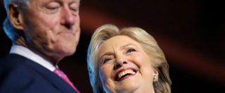 Usa 2016, Fbi pubblica le carte di una vecchia indagine su Bill Clinton: l'ira di Hillary
