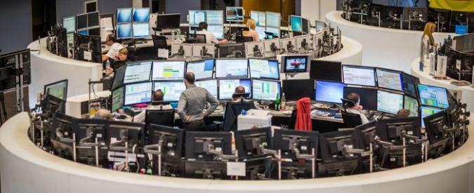 Crollo dei mercati finanziari, altro che spettro urne. Il problema è ancora una volta bancario