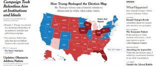 Donald Trump presidente, ecco perché il repubblicano ha vinto nonostante Clinton abbia incassato 170mila voti in più