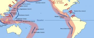 Terremoto in Nuova Zelanda, cos'è la cintura (o anello) di fuoco