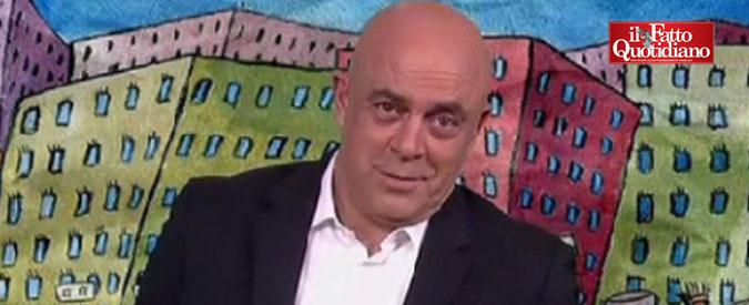 """Crozza: """"Referendum? Chef Bottura lascia l'Italia se vince NO. Ha paura che, se restano, i senatori gli bruciano il ragù?"""""""