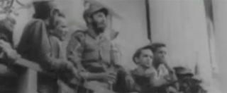 Fidel Castro morto, l'entrata trionfale del leader all'Havana dopo la rivoluzione