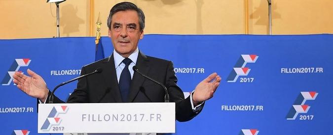 """Francia, Fillon convocato dai giudici. Poi alla stampa: """"L'indagine è omicidio politico. Non mi ritiro"""""""