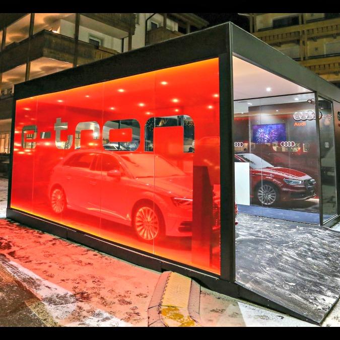 Audi, arrivano le colonnine elettriche gratuite su tutto l'arco alpino