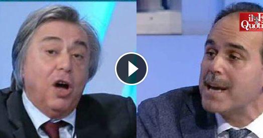 """Referendum, Freccero vs Marcucci (Pd): """"Renzi è sempre in tv. Quando spengo la televisione, lo vedo lo stesso"""""""