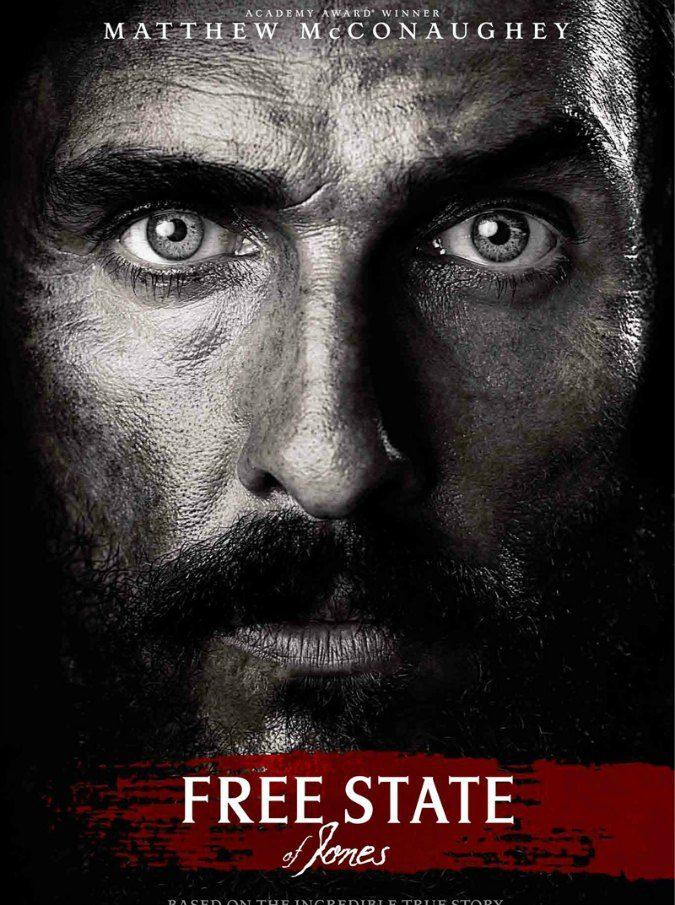 Free State of Jones, il premio Oscar Matthew McConaughey diventa il Braveheart d'America