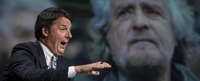 Caro Beppe, esci dal blog e confrontati con Renzi in tv