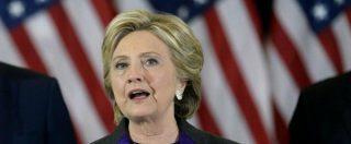 """Elezioni Usa 2016, Hillary Clinton: """"Ho perso per colpa dell'Fbi"""""""