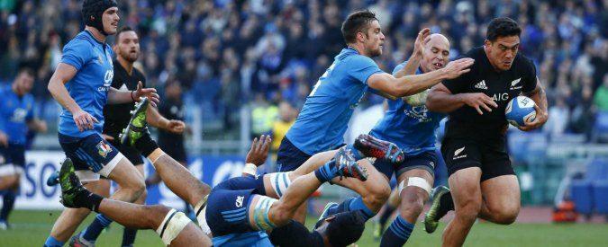 Rugby, Italia-All Blacks 10-68: feste sugli spalti, disfatta sul campo