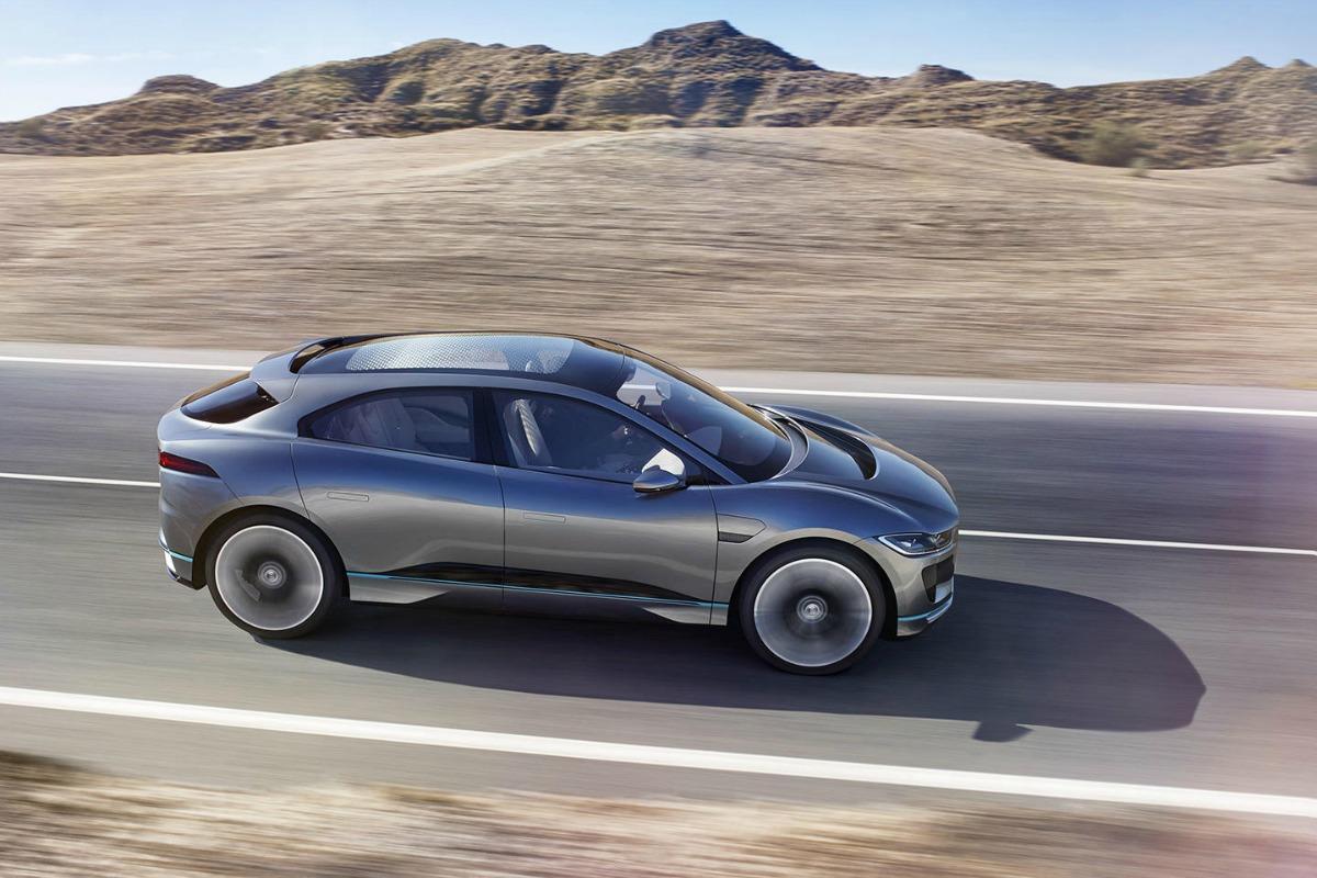 Jaguar i-Pace Concept, l'anti Tesla Model X debutta in ...