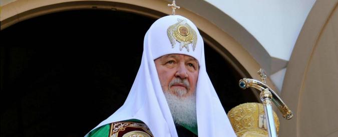 Russia, patriarca Kirill: nozze gay come leggi naziste. Minaccia per la razza umana