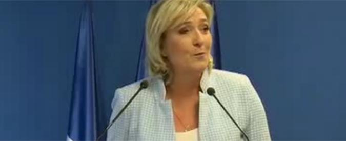 """Francia, Marine Le Pen: """"No a scuole e cure gratuite per i figli dei clandestini"""""""