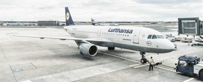 Lufthansa, sciopero dei piloti per avere l'aumento salariale: 1800 voli a terra