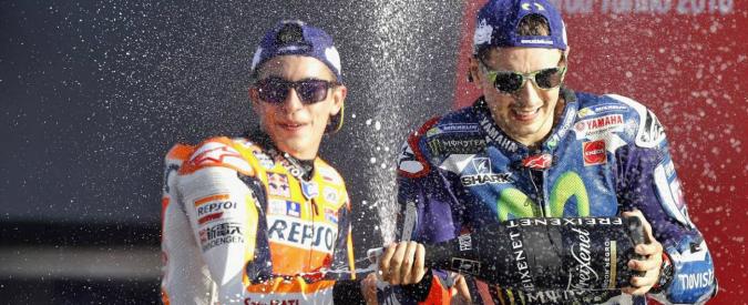 MotoGp Valencia, Lorenzo saluta Yamaha con la vittoria. A Marquez il titolo, ultima chance per Rossi la prossima stagione