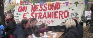 """Milano, festa per i migranti alla caserma Montello: """"Non saremo un'altra Goro. Abbiamo gli anticorpi"""""""