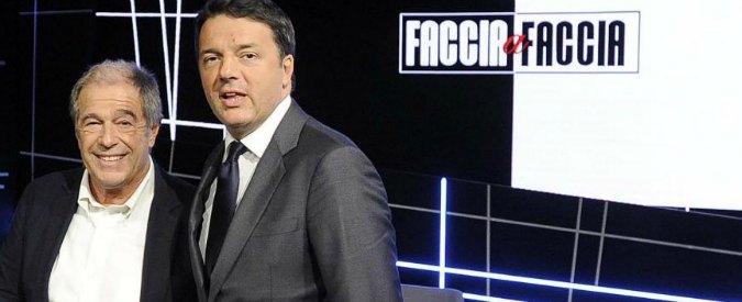 """Renzi, con """"Faccia a faccia"""" si torna agli anni '80: ecco perché Minoli ha vinto"""