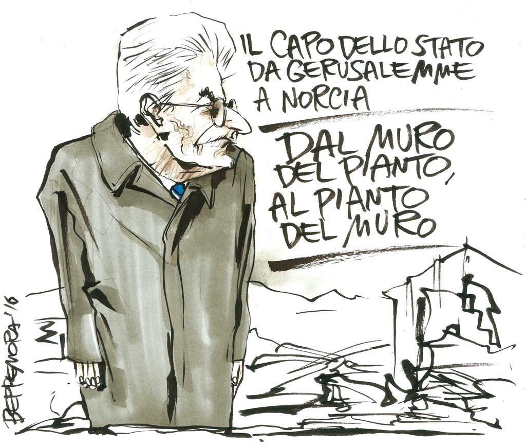 Vignetta di Beppe Mora