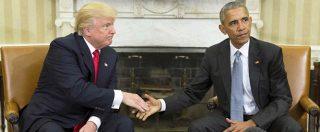 """Usa 2016, Trump alla Casa Bianca: """"Non vedo l'ora di iniziare a lavorare con Obama"""""""