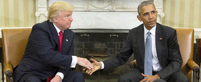 """Trump, intervista al Wsj: """"Inchiesta sulla Clinton non in cima ai miei pensieri. Obamacare? Potrei salvarne alcune parti"""""""