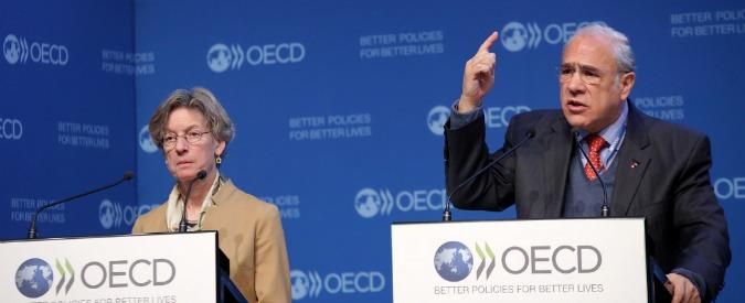 """Ocse: """"Più investimenti pubblici per evitare trappola della bassa crescita. Il pil dell'Italia aumenterebbe fino al 2%"""""""