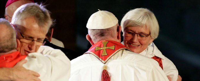 La strategia della condivisione del Papa: Lutero parte della comune storia cristiana